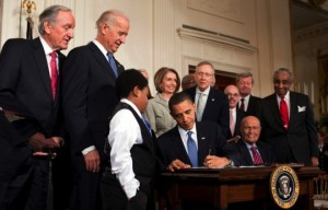 President Barack Obama Signs PPACA Into Law on March 23rd, 2010